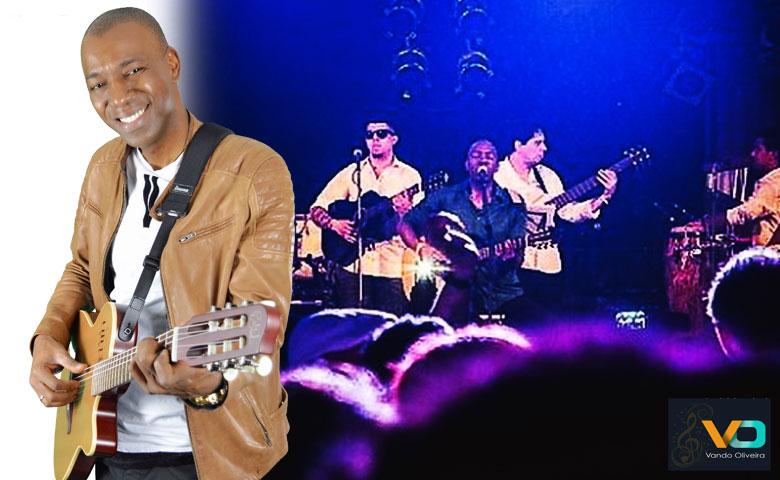 Vando Oliveira, nascido em meio ao universo do samba brasileiro