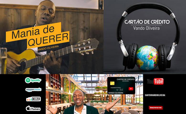 Vando Oliveira passou por grupos de pagode, bandas, tocou com muitos artistas, viajou por quase todo o Brasil e mundo